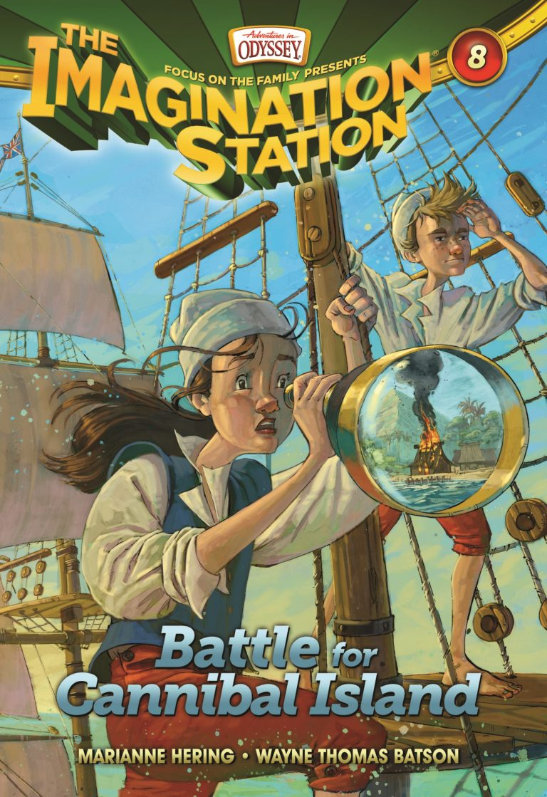 Imagination Station Book 8: Battle for Cannibal Island