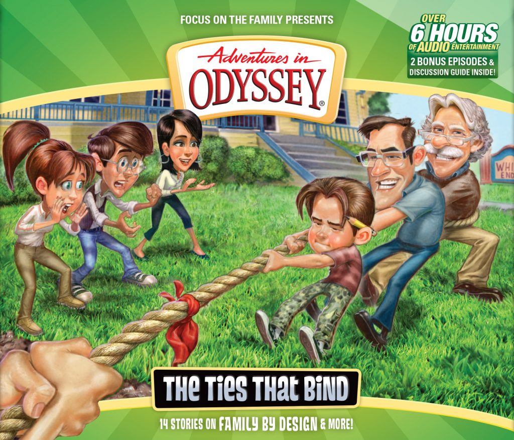 adventures in odyssey the ties that bind free