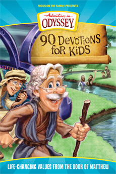 90 Devotions for Kids: Life-Changing Values from the Book of Matthew