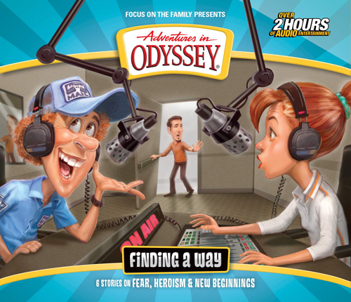 """Album cover for Adventures in Odyssey album """"Finding a Way"""""""