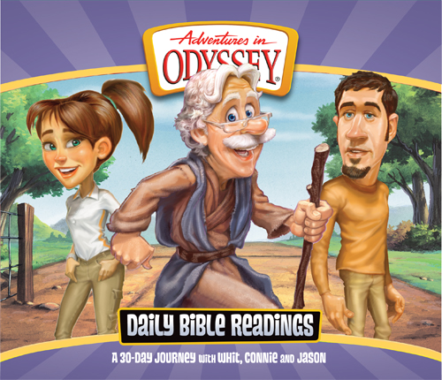 """Cover image for Adventures in Odyssey album """"Daily Bible Readings"""""""