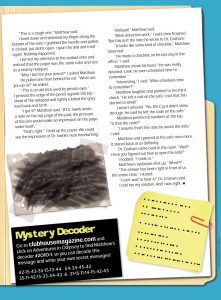Clubhouse Mystery - Page 2