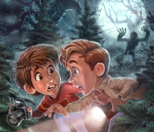 """Promotional image for Adventures in Odyssey Club episode """"The Revenge of Bigfoot"""""""